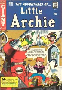 Little Archie #38 GD/VG 3.0 1966 Stock Image Low Grade