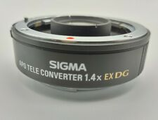 Sigma EX 1.4x 1.4 APO AF Lens For Canon