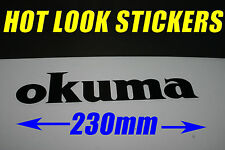 OKUMA Sticker Decal Solterra Fishing Reel Boat Braid Line Nanofil Fireline Bait