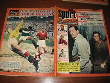 LO SPORT ILLUSTRATO GAZZETTA 1957/47 FAUSTO COPPI GINO BARTALI ITALIA LUTON TOWN