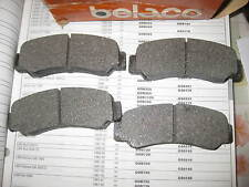 REAR BRAKE PADS - FITS: MITSUBISHI LANCER - 1400 & 1600 & 2000 TURBO (1979-83)