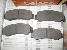 REAR BRAKE PADS - FITS: MITSUBISHI LANCER - 1400 & 1600 & 2000 TURBO (1979-83)