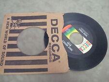 """WEBB PIERCE- FALLEN ANGEL/ TRUCK DRIVER'S BLUES   7"""" LP"""