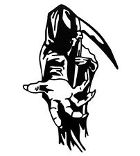 Car window decal truck outdoor sticker awesome wicked grim reaper death evil