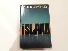 The Island, by Peter Benchley - 1979 - 1st Edition Vintage Hardcover Book