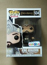 Funko Pop King Aragorn 534 Toys R Us Exclusive Lotr Lord of the Rings +protector