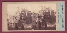 PHOTO STEREO 130816 - 09 ARIEGE FOIX vue prise du quai Bouchère