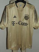 Fußballtrikot Trikot Maillot Camiseta FC Bayern Monaco Munchen Weg Größe XL