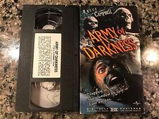ARMY OF DARKNESS RARE VHS TAPE ARCHOR BAY 1992 HORROR BRUCE CAMPELL