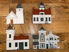 The Cat's Meow Lighthouse/West Coast Lighthouse Series Set Of 4 1994