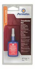 More details for permatex high strength threadlocker red nut bolt sealer 10ml