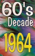60'S DECADE 1964<>various artists cassette ~