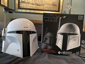 HASBRO - Star Wars: Black Series Boba Fett Helmet (Prototype Armor)