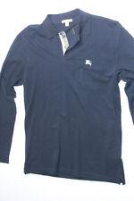 NWT Burberry Brit Men Navy  Nova ChecK Polo Shirt Small S Classic Fit