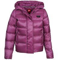 Nike Women's NSW Down Fill Hooded Parka Jacket Ladies Coat