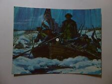 Old 33 RPM Soundsheet Postcard - Guard Music - Washington Crossing Delaware 1975