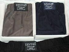6 slip uomo DIVINO art.76 Taglia 7/XXL CALIBRATA cotone colorati blu grigio nero