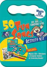 50 fun songs with mr ray and the sunshine kids cd activity kit shoo fly new