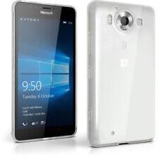 Custodie preformate/Copertine Per Microsoft Lumia 950 in pelle sintetica per cellulari e palmari