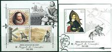 Cervantes Don Quichotte Spain Literature Madagascar MNH stamps set 3val + ss