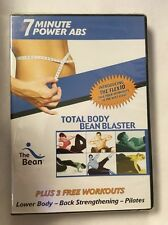 7 Minute Power Abs Total Body Bean Blaster Flex10 FACTORY SEALED DVD FREE SHIP!!