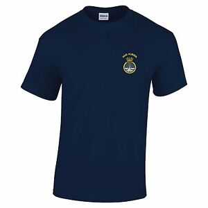 HMS Albion Embroidered T-Shirt
