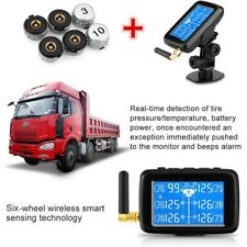 U901 Wireless Car LCD TPMS Tire Pressure Monitor System + 6 Sensors Bar/PSI