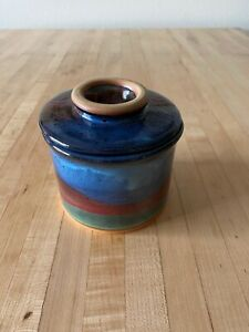 Always Azul Pottery Colorado French Butter Crock