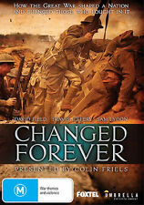 CHANGED FOREVER DVD AUSTRALIAN  MOVIE NEW AND SEALED