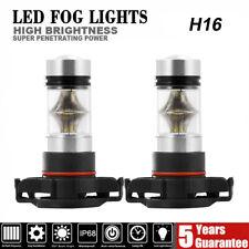 5202 H16 LED Fog Light Bulb For 2007-2015 Chevy Silverado 1500 White 6000K 100W