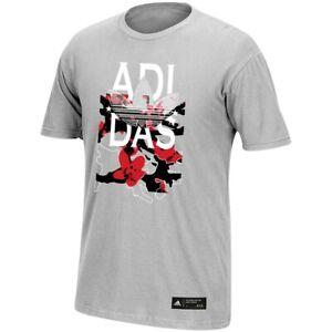 Adidas Originals Men's USA Graphic Grey T-Shirt BF9903