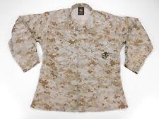 USMC US MARINE Desert Marpat Blouse Shirt Top MCCUU Camouflage M Medium Short