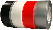 Duct Tape 48mm x 50m Duct Tape Black Red White Silver