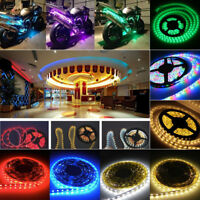 5m Flexible Led Strip Lights High Bright Fairy Lamp 3528SMD Home Decor 12V 2A UK