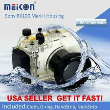 Meikon Underwater Waterproof Housing for Sony RX100 Camera Case