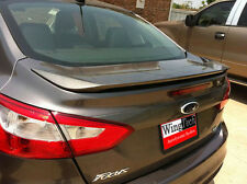 Ford Focus 4-Door 2012-2014 Painted Factory Style Rear Spoiler Made in the USA