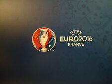 Menu card blue UEFA Euro Final 2016 Portugal vs France Match 51