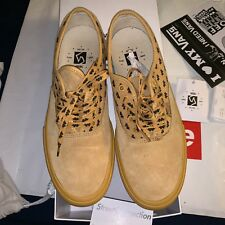 """Vans Syndicate WTAPS Authentic """"S"""" Wings Yellow Sz 10.5"""