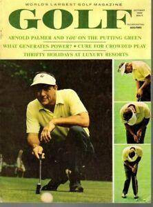 1966 (Oct.) Golf Digest magazine, Arnold Palmer, On the Putting Green ~ VG