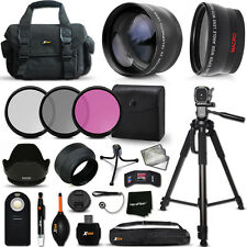 Xtech Kit for Nikon D7000 Optimal 21 Piece w/ Lenses + Case + Tripod + MORE!