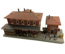 MINIATURE ALTKIRCHEN RAIL STATION With Light  395mmx190mmx135mm