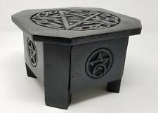 NEW Pentagram Drawer Altar Chest Handmade Wood Box Table