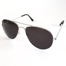 Gafas de sol gafas de sol Piloto Aviador Gafas Plata Oscuro Con Estilo GENIAL