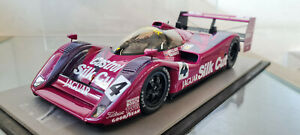 SPARK - JAGUAR XJR-14 SILK CUT LIVERY 1:18 SCALE VERY RARE MODEL CAR UNBOXED