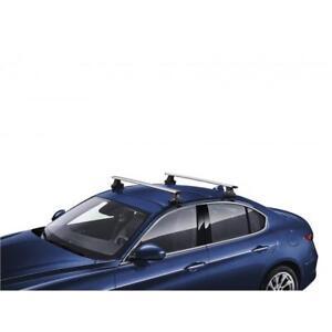 Brand new Alfa romeo Gulia Quadrifolgio verde roof bars