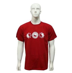 Martial Arts Tai Chi T-shirt Cotton Round Neck Short Sleeve Training Suit