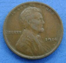 1914 USA America 1 Cent one cent 1914 Lincoln