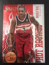 2012-13 BRADLEY BEAL PANINI SELECT HOT ROOKIES RC RED PARALLEL CARD # 7