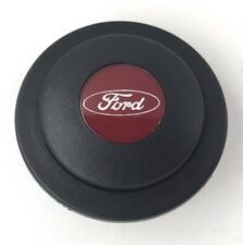 Genuine Personal (Nardi) red logo Ford steering wheel horn push button. Superb!