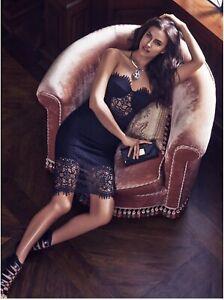 Bebe Black Lace Dress 6